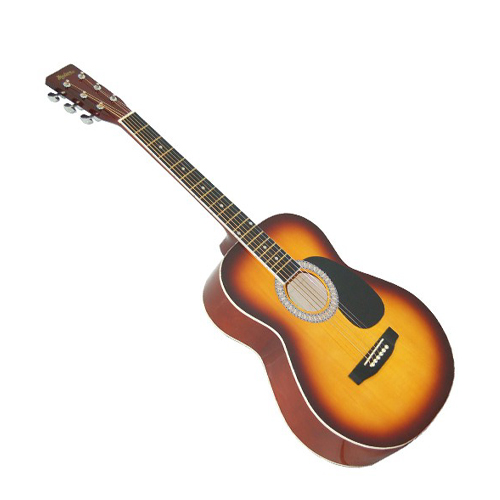 "MADERA LD381 Left Hand 38"" Acoustic Guitar Natural"