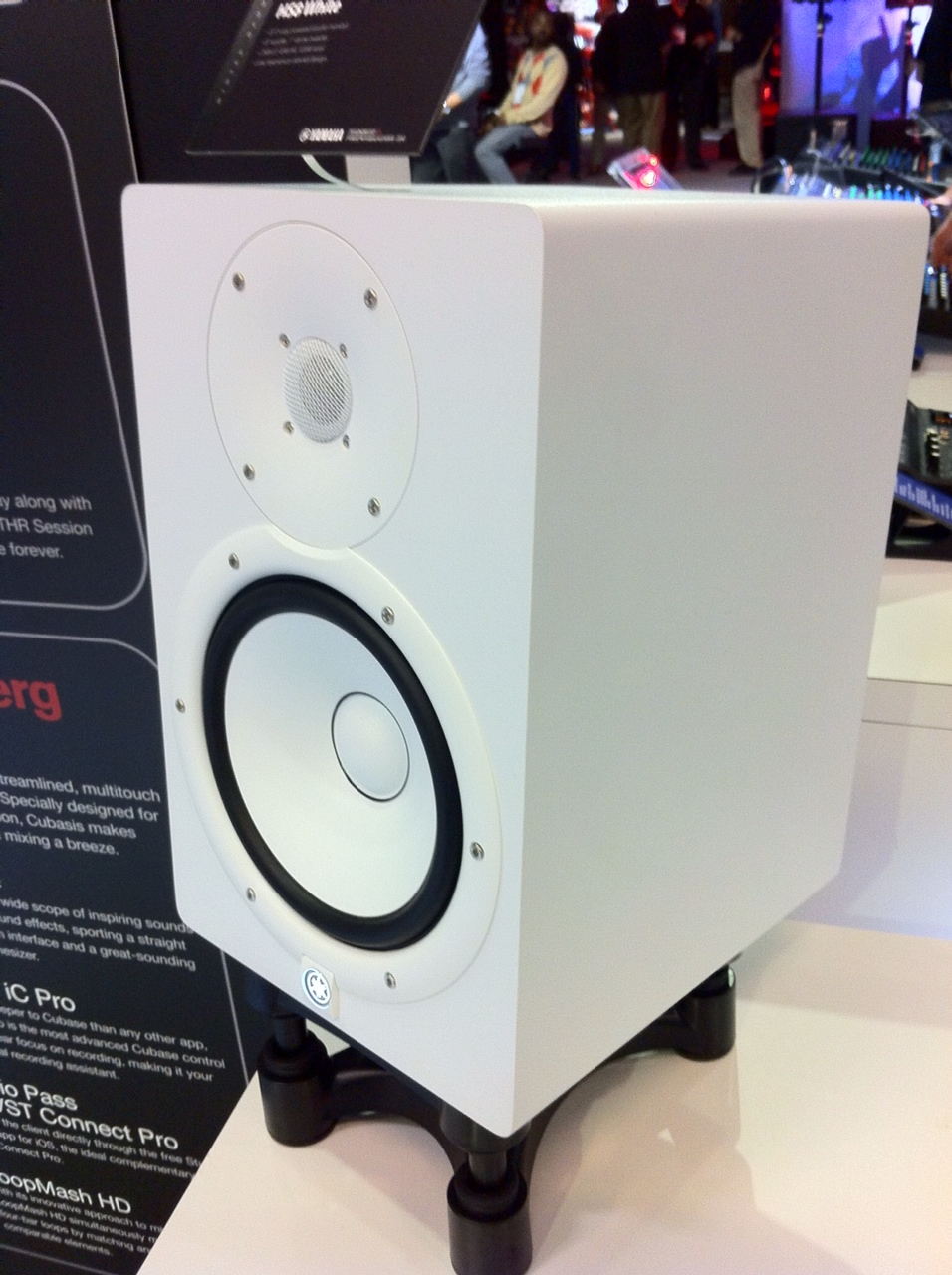 NAMM 2014 - Yamaha HS Monitors White