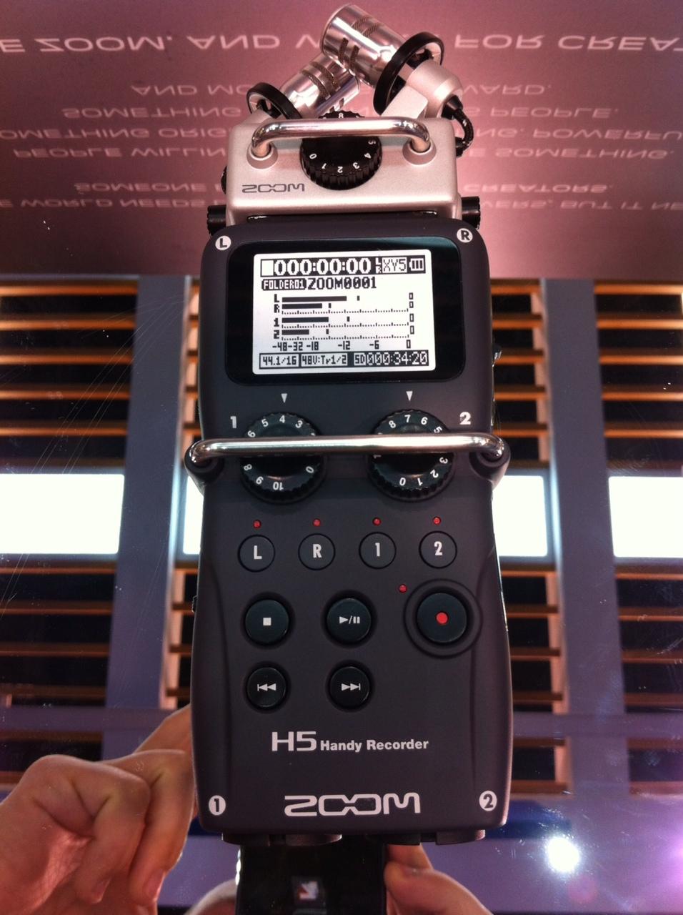 NAMM 2014 - Zoom H5 Prototype