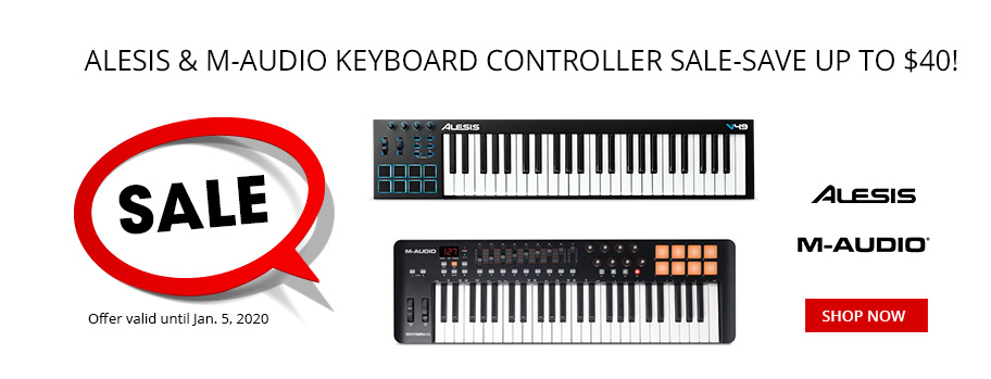 Alesis & M-Audio Keyboard Controller