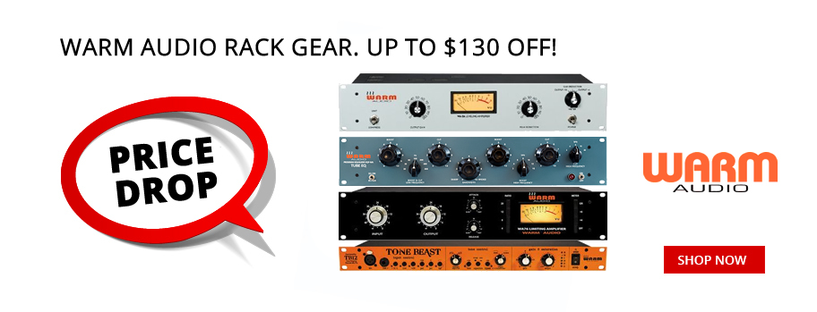 Warm Audio Rack Gear Price Drop