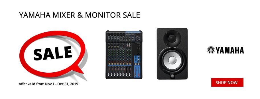 Yamaha Mixer & Monitor Sale