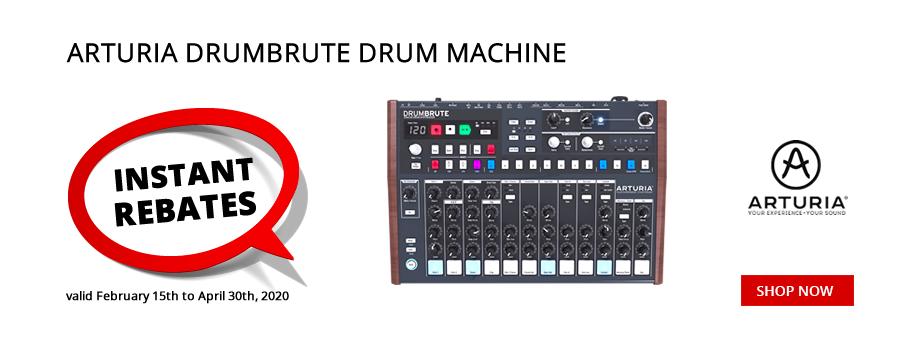 Arturia DrumBrute Drum Machine Instant Rebate