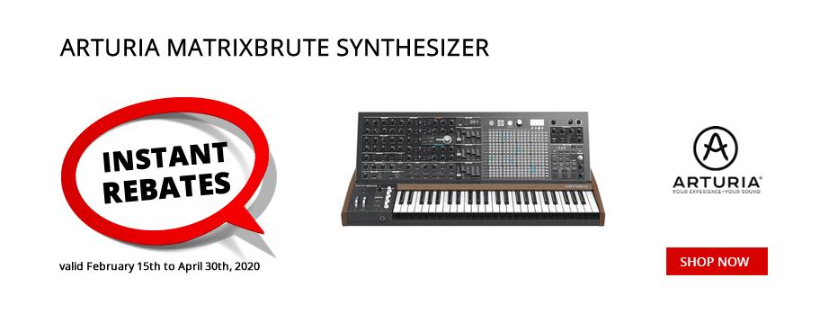 Arturia MatrixBrute Synth Instant Rebate