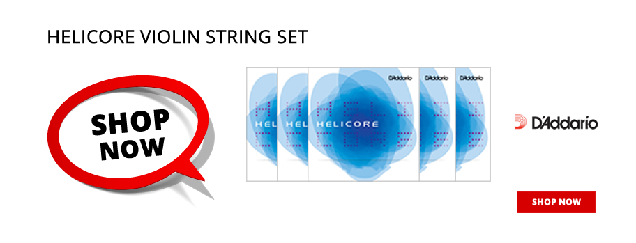 D'Addario Helicore Violin Strings