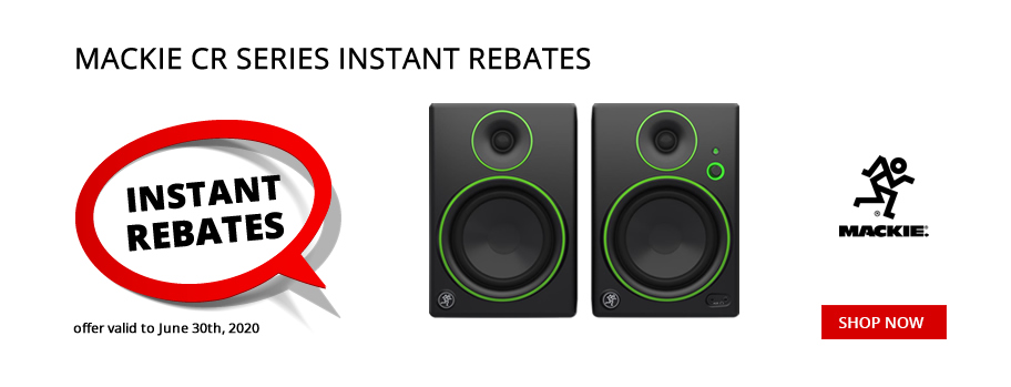 Mackie CR Series Instant Rebate