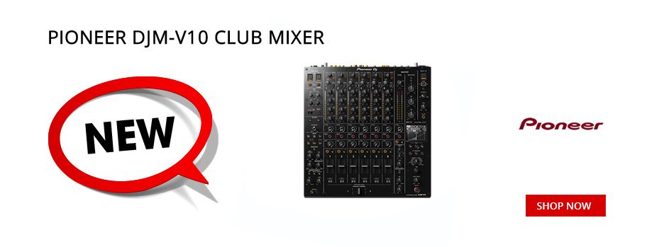 New Pioneer DJM V10 Club Mixer