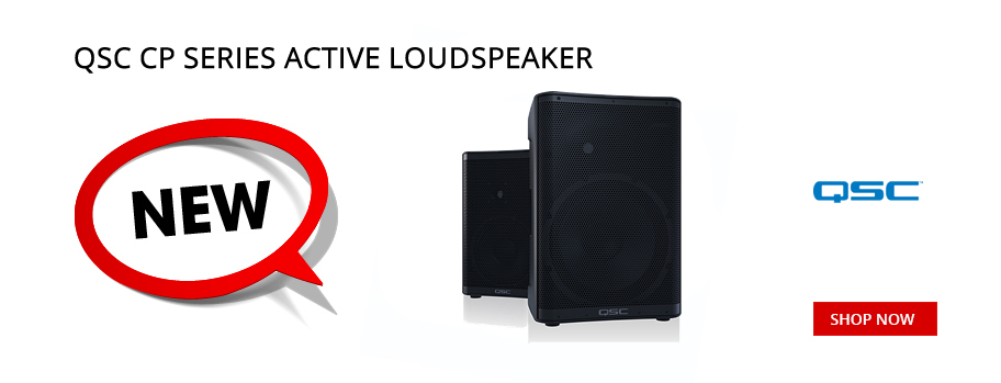 New QSC CP Series Active Loudspeakers