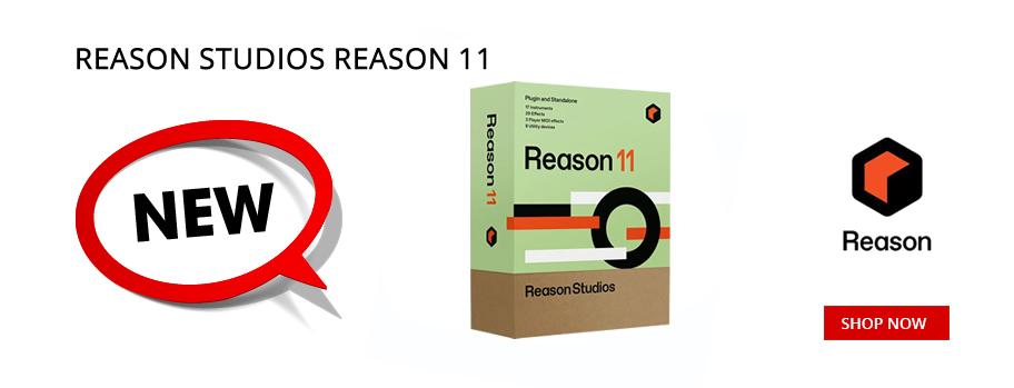 New Reason Studios Reason 11