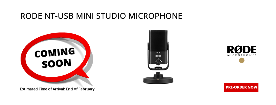 Rode NT-USB Mini Studio USB Microphone