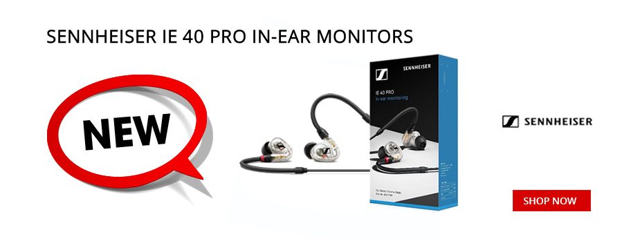 New Sennheiser IE40 Pro In-Ear Monitors