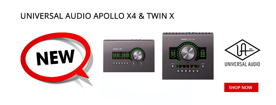 Universal Audio Apollo X4 & Twin X