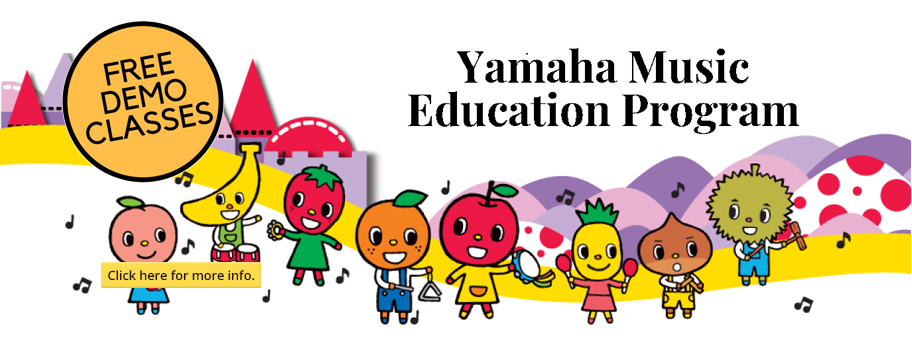 Yamaha Music Education - Free Demo Classes