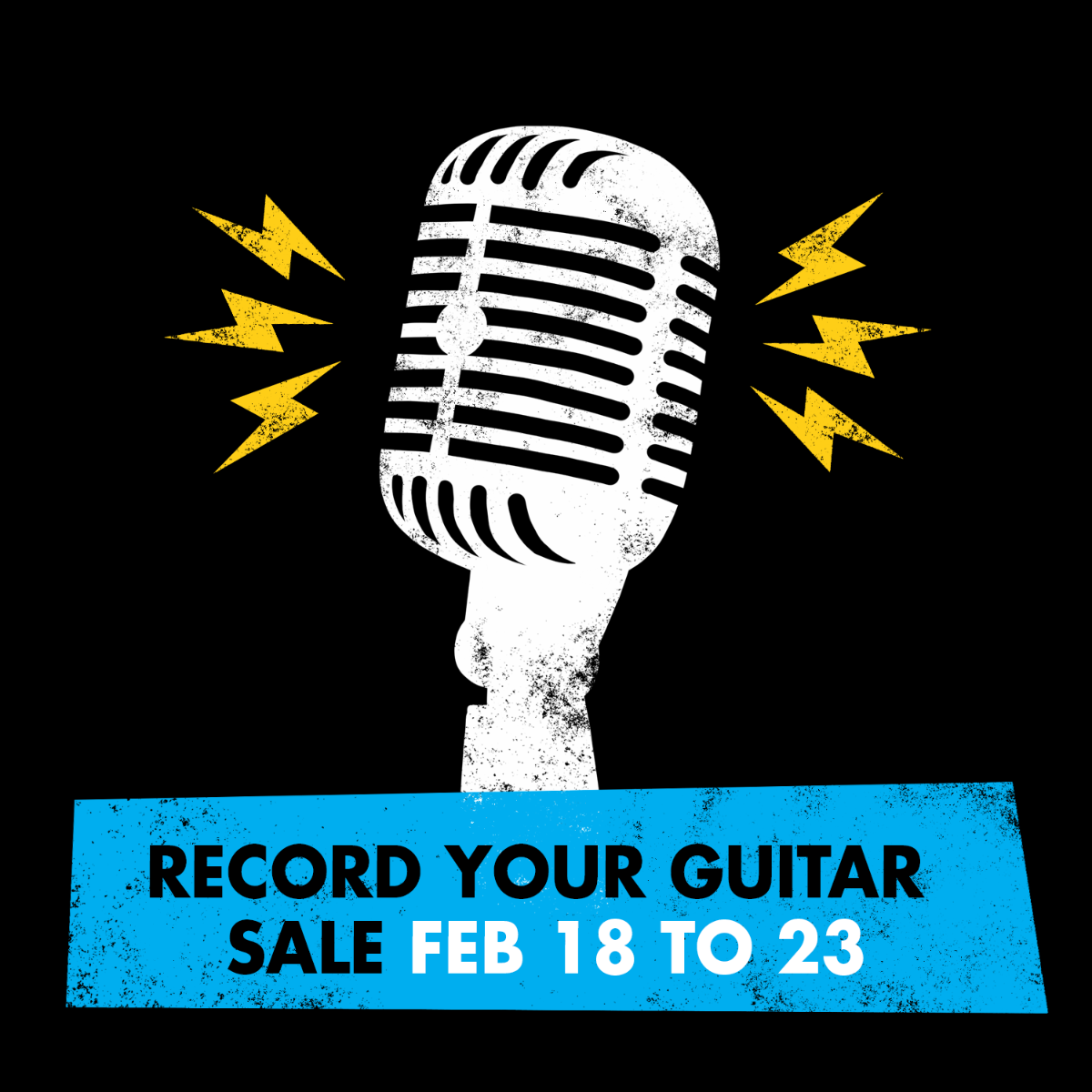 Guitar Month - Record Your Guitar Sales