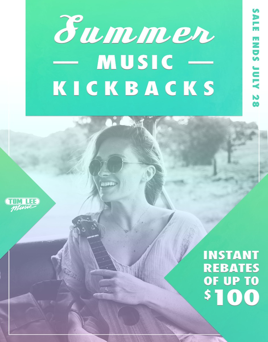 Summer Music Kickbacks
