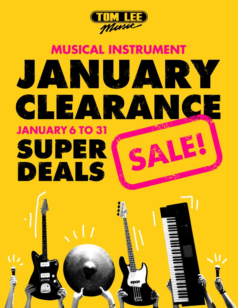 January Clearance Super Sale
