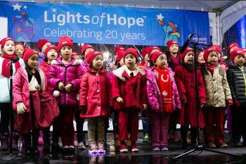 Yamaha Children Choir at Lights of Hope