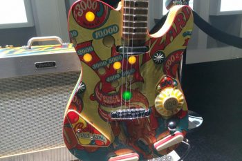 NAMM 2018: Fender Custom Shop Pinball Guitar and Amp