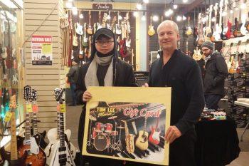 2017 Moving Sale $100 Tom Lee Music Gift Card Winners