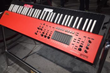 Vox Continental keyboard prototype