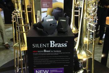 NAMM: Yamaha silent brass  New from NAMM: Yamaha silent brass