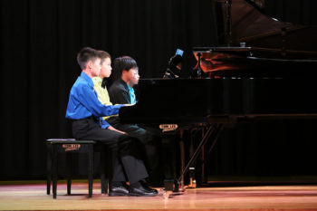 Summer Piano Ensemble Master Class – Honor Concert - August 16, 2014