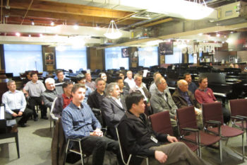 Piano Technicians Guild (PTG) meeting at Tom Lee Music