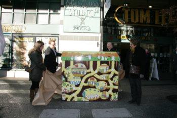 DVBIA Emily Carr Wrap Project Box Unveil Dec. 2013