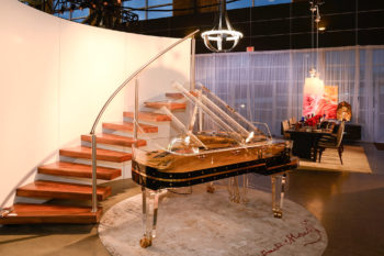 Schimmel Glass Piano Featured on CTV