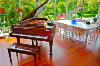 Garden Party with Steinway Crown Jewel Piano