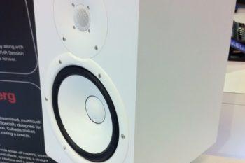 NAMM 2014 - Yamaha HS Series Monitors (White)