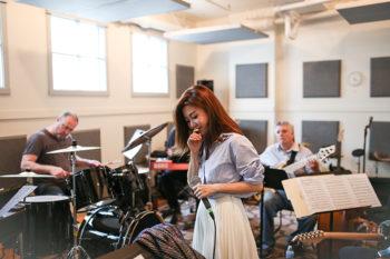 Bianca Wu Rehearsal at Tom Lee Music