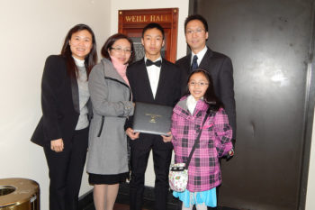 Crescendo International Competition – Honor Recital at Carnegie Hall's Weill's Hall