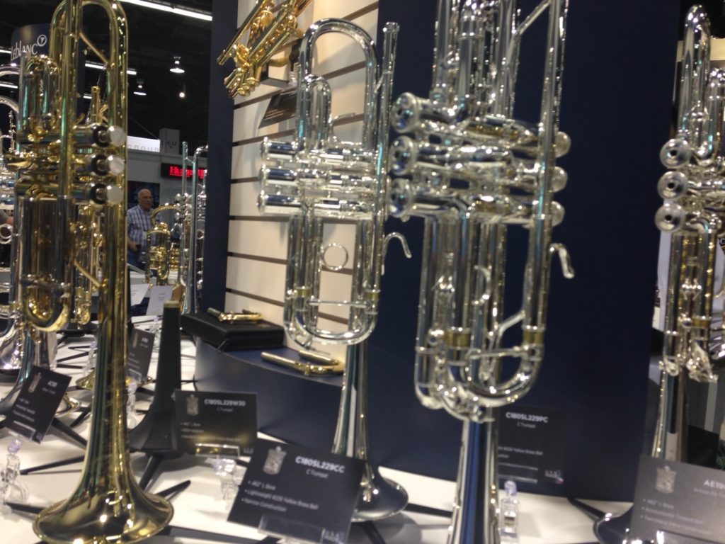 From the Conn Selmer Booth | Tom Lee Music Blog | Tom Lee Music