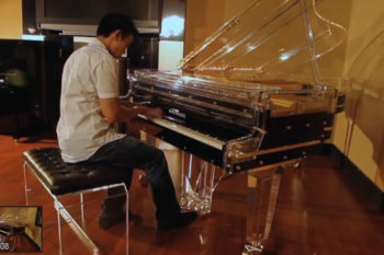 Glass Piano - Pirates of the Caribbean - Jarrod Radnich - Incredible Piano Solo - Jarvis Huy Phan
