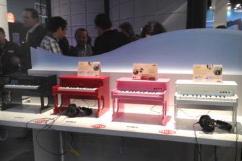 NAMM 2014 - Korg Tiny Digital Pianos