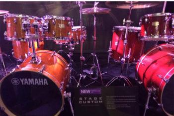 NAMM 2014 - Yamaha Drum Kits