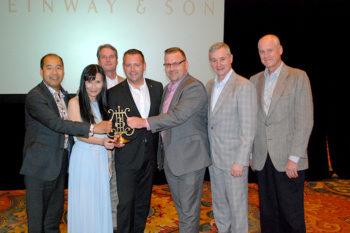 Tom Lee Music Receives The Steinway Dealer Award