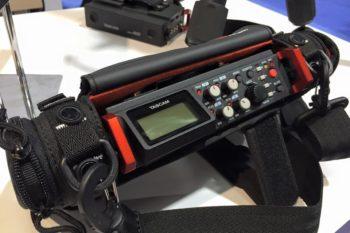Tascam DR-701D 6-track DSLR