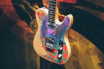 NAMM 2019 featuring: Jimmy Page Telecaster